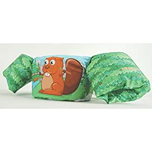Stearns Kids Puddle Jumper Deluxe 3D Life Jacket, Beaver