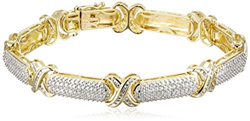 Diamond 18k Gold Bracelet - 6