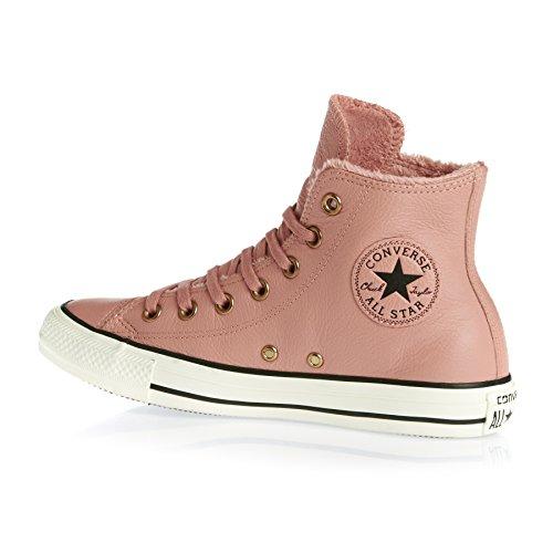 Unisex Blush Taylor Chuck Zapatillas Fur Hi Converse Star Pink All Black q8wY4BxB