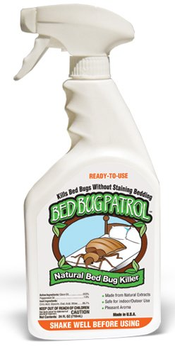 Bed Bug Patrol Bed Bug Killer - 100% Natural, Non-Toxic, Environmentally Friendly, Family & Pet Safe...