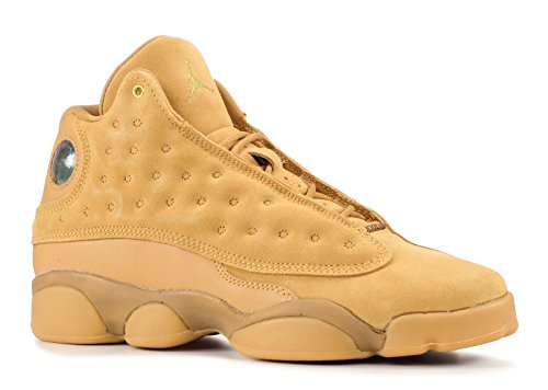 NIKE Air Jordan 13 XIII GS BG Boys Kids Youth Wheat Brown 414574-705 US Size 4Y by NIKE