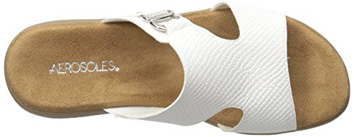 Aerosoles Sandalias de Nueva WIP pescador de la mujer White Snake