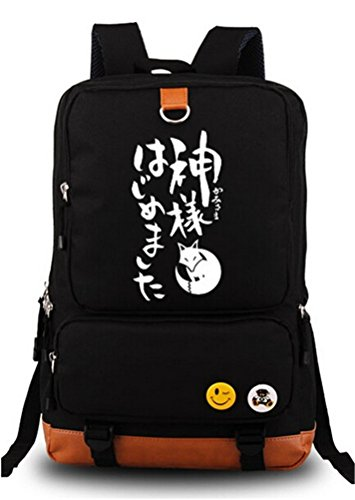 Siawasey Kamisama Kiss Anime Cosplay Canvas Bookbag Backpack Shoulder Bag School Bag