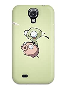 First-class Case Cover For Galaxy S4 Dual Protection Cover Invader Zim