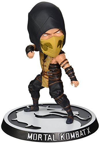 Mezco Toyz Mortal Kombat: Scorpion Bobble Head (Scorpion From Mortal Kombat)