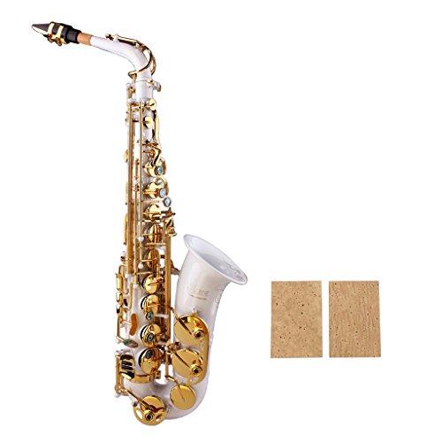 YiPaiSi 2PCS Universal Sax Neck Corks Sax Saxophone Neck Joint Cork Sheet for Alto//Soprano//Tenor Saxophone Neck Cork Sheet Saxophone Neck Cork