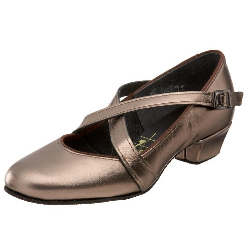 Tic-Tac-Toes Women's Grace, Pewter Brown Tic Tac Toe