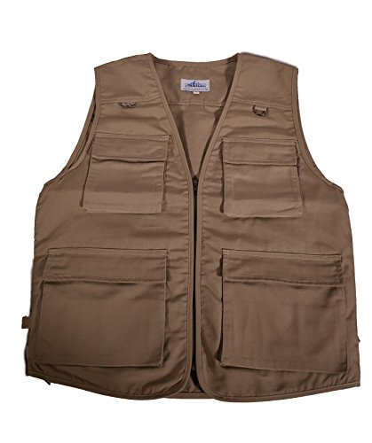 BLUE STONE SAFETY Outback Concealment Vest - 14 Pocket Travel Vest Hunting Fishing Photo