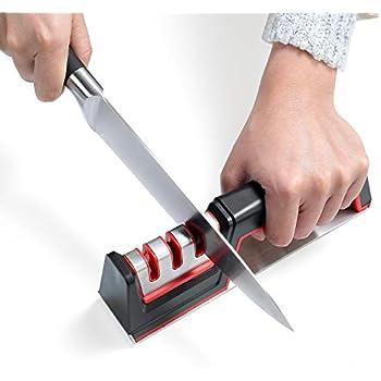 Amazon.com: Professional Knife Sharpener, 3 Stage Diamond ...