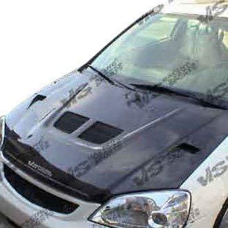 VIS Racing (VIS-BHM-448) EVO Style Hood Carbon Fiber - Compatible for Honda CRX 1988-1991 (1988 1989 1990 1991 | 88 89 90 91)