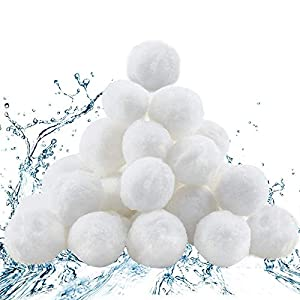 Diealles Shine 700g Filter Balls, Filters for Sand Filter System, Pool Filter Ball Eco-Friendly, 8 L Filter Balls Alternative for 25 kg Filter Sand
