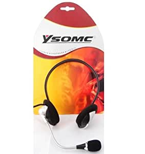 ysomc alta calidad multimedia estéreo auricular