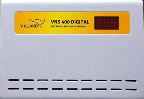 V Guard VNS 400 Digial Voltage Stabilizer  Grey