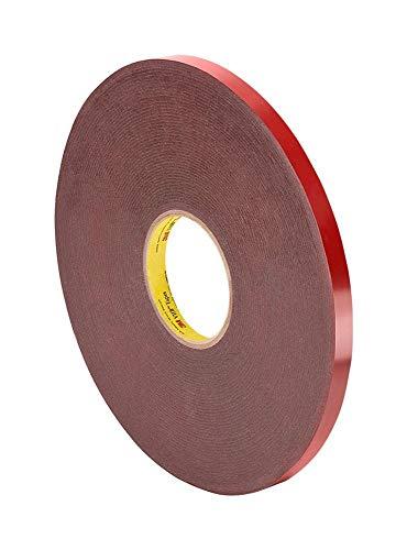 """3M VHB Foam Tape 4611, 1/4"""" x 36 yards, Dark"""
