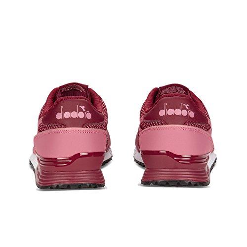 Diadora Titan Weave, Sneaker Uomo C7031 - Viola Prugna-rosa Mesa