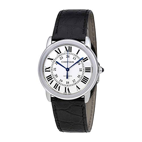 Cartier Ronde Solo Automatic Silver Opaline Dial Ladies Watch WSRN0013