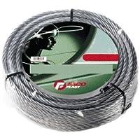 Cuerda de metal galvanizado X persianas madeja Ø