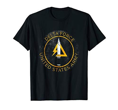 US Army - Delta Force Vintage Insignia Tshirt