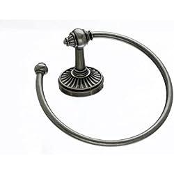 Top Knobs TUSC5-PTA Tuscany Bath Ring Pewter