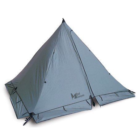 Red Canyon Pingora 4-man Tent, Outdoor Stuffs