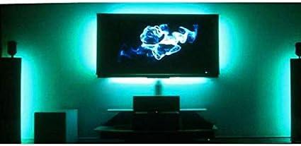 Octane iluminación RGB LED LCD PC Ambient color iluminar TV televisión retroiluminada retroiluminación de iluminación: Amazon.es: Coche y moto