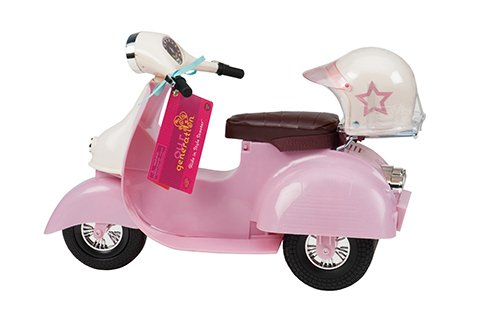 Our Generation Pink Ivory Scooter for 18