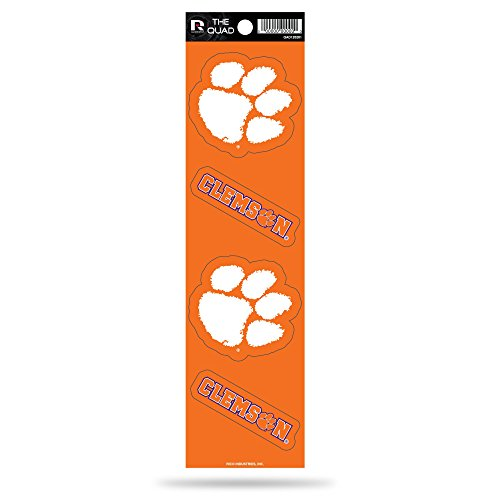 Rico NCAA Clemson Tigers Quad Decal