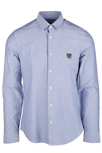 Kenzo chemise à manches longues homme blu EU 41 (UK 16) 1LD 5CH200 67