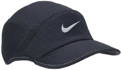 afae3c67146 Nike Mesh Daybreak Running Hat Black Reflective Silver Size - Import ...