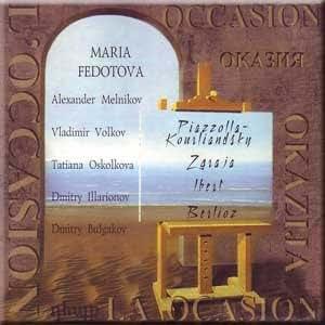 Piazzolla - Kourliandsky, Zgraja, Ibert, Berlioz - Occasion - M. Fedotova, A. Melnikov, V. Volkov, T. Oskolkova, D. Illarionov, D. Bulgakov
