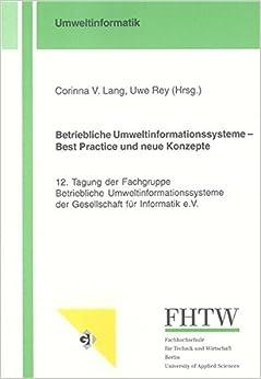 Book Betriebliche Umweltinformationssysteme - Best Practice und neue Konzepte