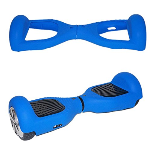 Price comparison product image Mchoice Silicone Case Cover for 6.5 2 Wheels Smart Self Balancing Scooter Hover Board (Blue)