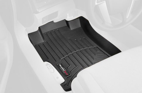 WeatherTech Custom Fit Front FloorLiner for Toyota FJ Cruiser, Black ()