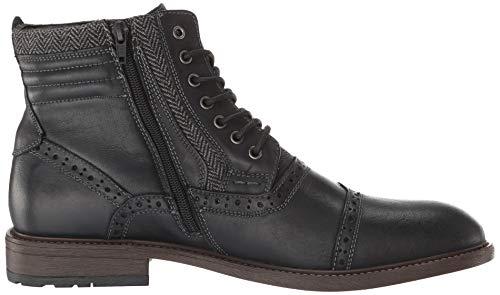 Pictures of Steve Madden Men's Trentin Ankle Boot TREN01M1 Black Leather 3