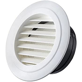 Air Vent Outlet Grille Wall Round Ventilation Cover Corner