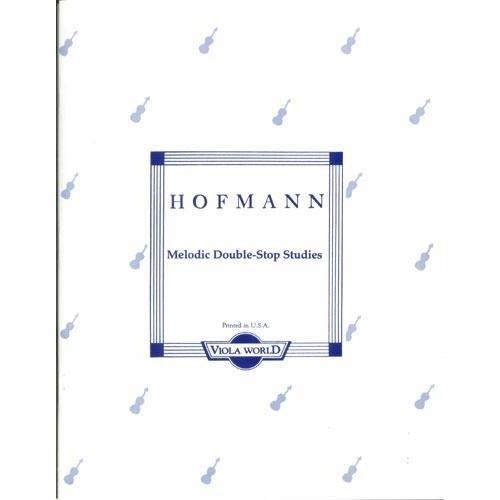 Hofmann, Richard - Melodic Double-Stop Studies, Op. 96 - Viola solo - by Alan Arnold - Viola World