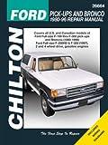 Ford F-100, F-150, F-250, F-350, Bronco, Chassis Cab, Repair Manual 1980-1996