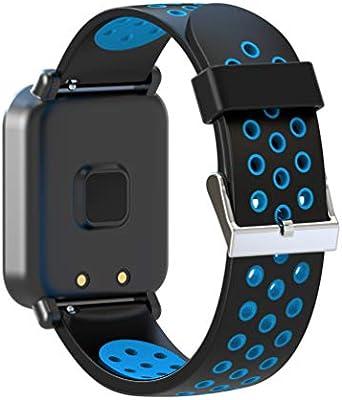 Leotec MultiSport Helse - Smartwatch, color azul: Amazon.es ...
