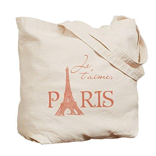 Je t'aime Paris-Borsa Tote Bag by CafePress
