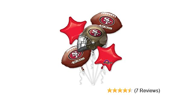 Amazon Anagram International Bouquet 49ers Party Balloons Multicolor Kitchen Dining