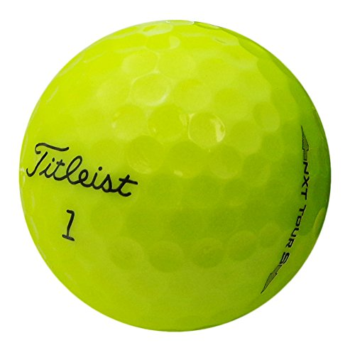 (Titleist NXT Tour S Yellow Near Mint Recycled Golf Balls (Pack of 36))