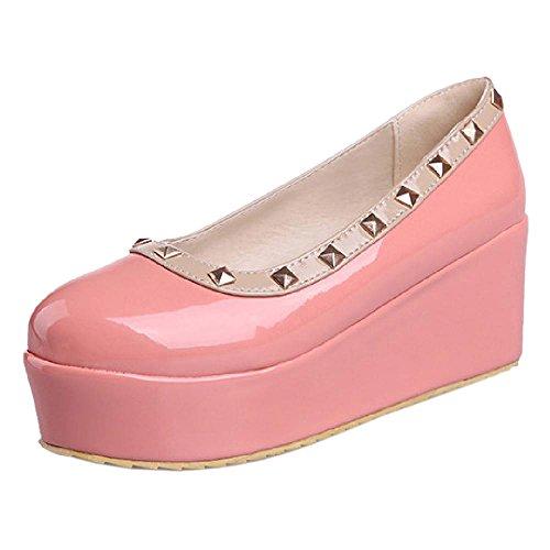 Shoes Flatform Women Cute Pink KemeKiss Pumps WpE8IxwqOR