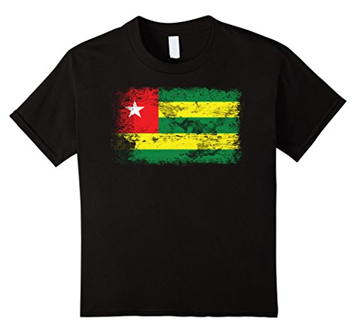 Kids Togo Flag T-Shirt   I'm Proud of my Country Tee 10 B...