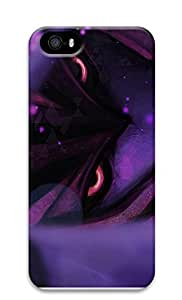 iPhone 5 5S Case 3D Purple Pattern 3D Custom iPhone 5 5S Case Cover