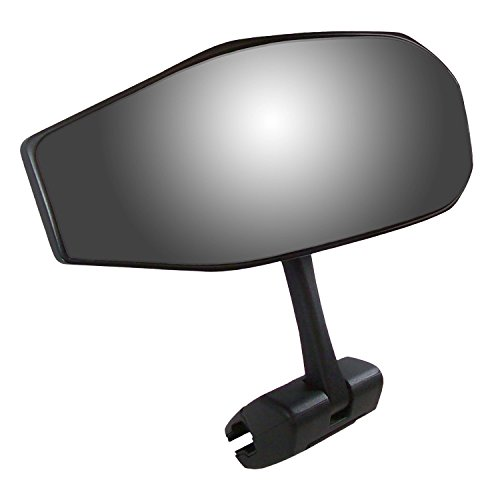 180 Mirror (CIPA 01609 Black Vision 180 Degree Marine Mirror with Deluxe Cast Aluminum Cup Mounting Bracket)