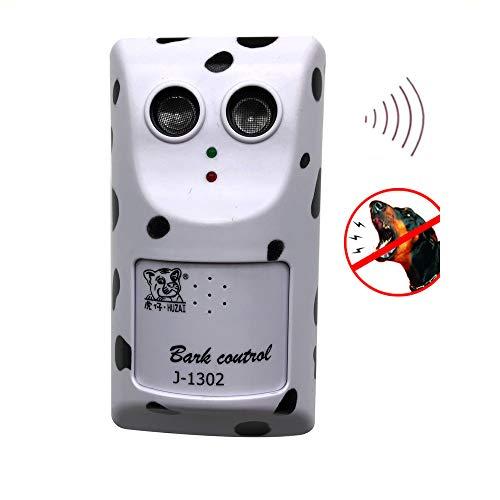 Huzai Ultrasonic Dog Bark Control Device Anti Barking Deterrent Sonic Stop Barking Indoor Plug-in Wall-Mounted Stopper