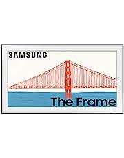 SAMSUNG 55-Inch Class Frame Series - 4K Quantum HDR Smart TV with Alexa Built-in (QN55LS03AAFXZA, 2021 Model)