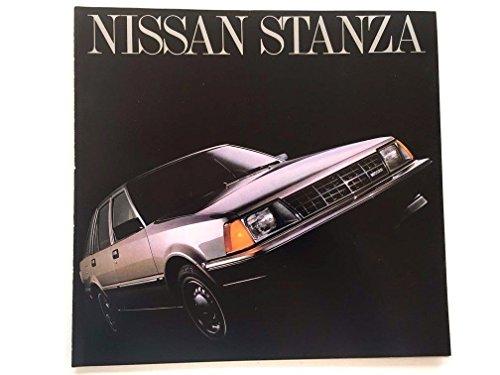 1983 Nissan Stanza 16-page Original Car Sales Brochure Catalog