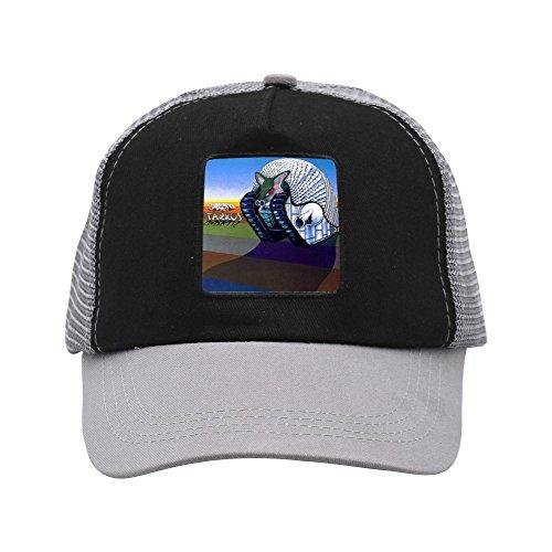 Anzhuzhen Dad Hat, Tarkus Legacy Adjustable Grid Baseball Cap Snapback Washed Trucker Cap for Mens Womens Teen ()