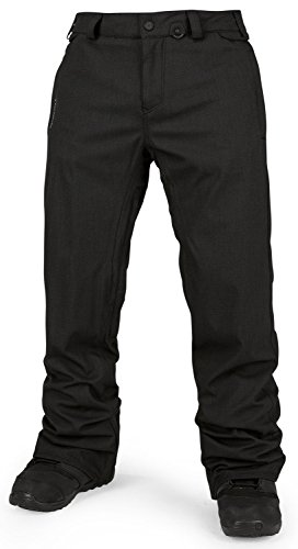 Volcom Men's Freakin Snow Chino, Black, Large
